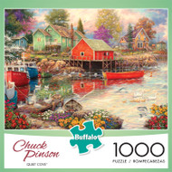 Chuck Pinson Quiet Cove 1000 Piece Jigsaw Puzzle Front