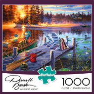 Darrell Bush Morning Magic 1000 Piece Jigsaw Puzzle Front