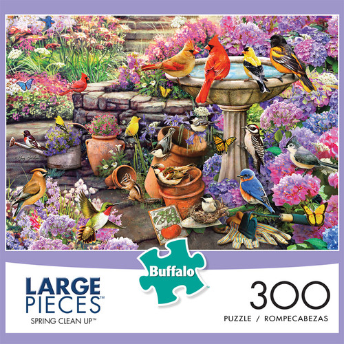 Spring Clean Up 300 Large Piece Jigsaw Puzzle Front