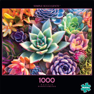 Photography Simple Succulent 1000 Piece Jigsaw Puzzle Front