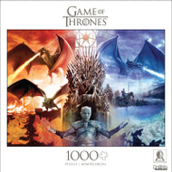 Game of Thrones Fire and Ice 1000 Piece Jigsaw Puzzle Front
