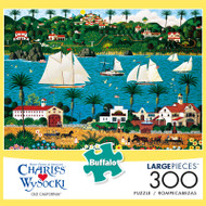 Charles Wysocki Old California 300 Large Piece Jigsaw Puzzle Front