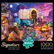 Signature Collection Wild West Camp 1000 Piece Jigsaw Puzzle Front