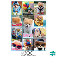 Boo Collage 300 Large Piece Jigsaw Puzzle Front