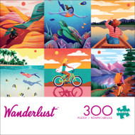 Wanderlust 300 Large Piece Jigsaw Puzzle Front
