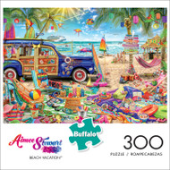 Aimee Stewart Beach Vacation 300 Large Piece Jigsaw Puzzle Front