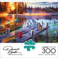 Darrell Bush Morning Magic 300 Large Piece Jigsaw Puzzle Front