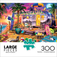 Beach Holiday 300 Large Piece Jigsaw Puzzle Front