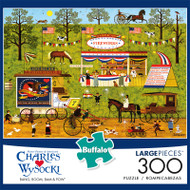 Charles Wysocki Bang Boom Bam & Pow 300 Large Piece Jigsaw Puzzle Front