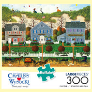 Charles Wysocki Nantucket Winds 300 Large Piece Jigsaw Puzzle Front