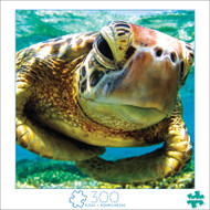 Art of Play Turtle Swimmer 300 Large Piece Jigsaw Puzzle Front