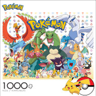 Pokémon All Stars 1000 Piece Jigsaw Puzzle Front