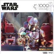 "Star Wars™ The Mandalorian ""This Is Not A Toy"" 1000 Piece Jigsaw Puzzle Front"