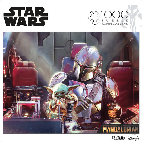 """Star Wars™ The Mandalorian """"This Is Not A Toy"""" 1000 Piece Jigsaw Puzzle Front"""