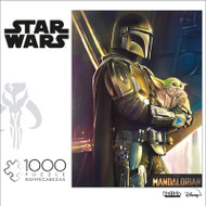 "Star Wars™ The Mandalorian ""Wherever I Go, He Goes"" 1000 Piece Jigsaw Puzzle Front"