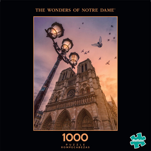 Photography The Wonders of Notre Dame 1000 Piece Jigsaw Puzzle Front