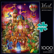Vivid Krystol's Palace 1000 Piece Jigsaw Puzzle Front