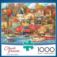 Chuck Pinson Good Times Harbor 1000 Piece Jigsaw Puzzle Front
