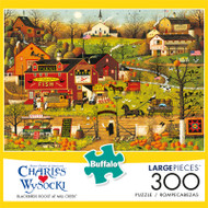 Charles Wysocki Blackbirds Roost at Mill Creek 300 Large Piece Jigsaw Puzzle Front
