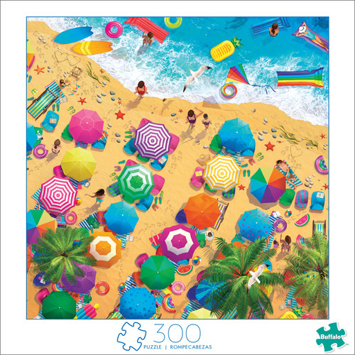 Art of Play Fun In The Sun 300 Large Piece Jigsaw Puzzle Front