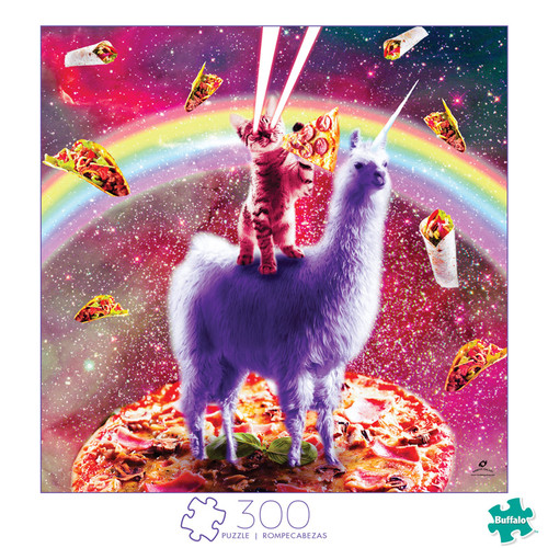 Art of Play Laser Llama Kitty 300 Large Piece Jigsaw Puzzle Front