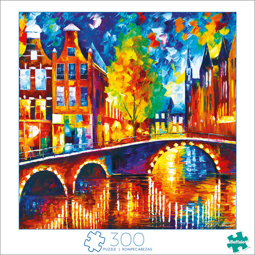 Art of Play Amsterdam 300 Large Piece Jigsaw Puzzle Front