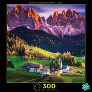 Photography Santa Maddalena Village 300 Piece Jigsaw Puzzle Front