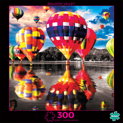 Photography Balloon Valley 300 Piece Jigsaw Puzzle Front