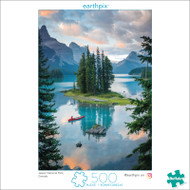 Earthpix Pine Sanctuary 500 Piece Jigsaw Puzzle Front