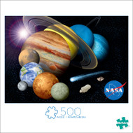 NASA Solar System 500 Piece Jigsaw Puzzle Front