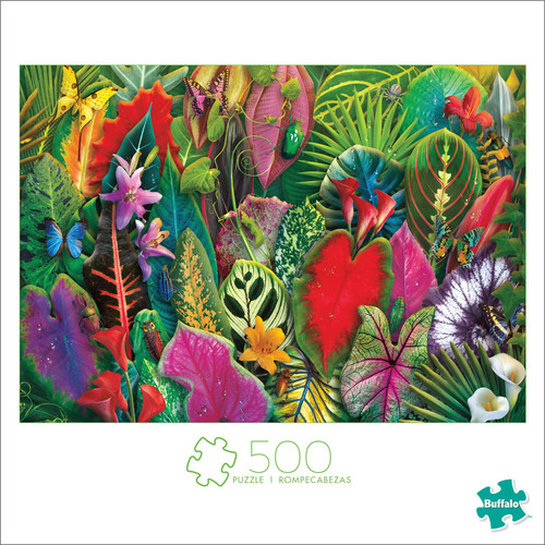 Brilliant Botanicals 500 Piece Jigsaw Puzzle Front