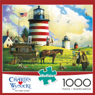 Charles Wysocki The Three Sisters 1000 Piece Jigsaw Puzzle Front