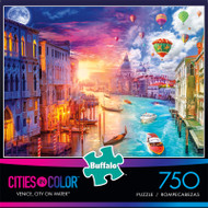 Cities in Color Venice, City on Water 750 Piece Jigsaw Puzzle Front