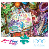 Aimee Stewart Happy Vibes 1000 Piece Jigsaw Puzzle Front