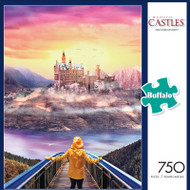 Majestic Castles Discover Fantasy 750 Piece Jigsaw Puzzle Front