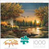 Terry Redlin Evening Solitude 1000 Piece Jigsaw Puzzle Front