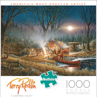 Terry Redlin Campfire Tales 1000 Piece Jigsaw Puzzle Front