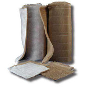 Hi-Efficiency Paper Paint Arrestor Roll With Polyester Backing