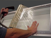 Clear Protective Booth Glass Film Rolls