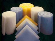 "Series 64 1"" Blue & White Dry Polyester Rolls"