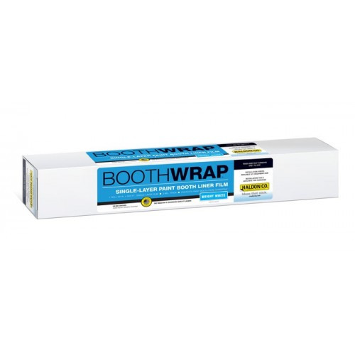 Make sure you upkeep your booth the right way! This booth wrap will protect your paint booth