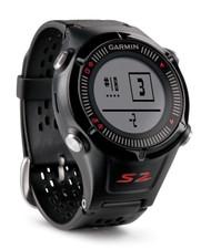 Garmin Approach S2 GPS Golf Watch - Black / Red - (Garmin Newly Overhauled)
