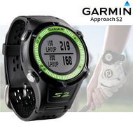 Garmin Approach S2 GPS Golf Watch - Black / Green - (Garmin Newly Overhauled)