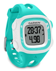 Garmin Forerunner 15 GPS ANT+ Running Watch, Small-Teal/White (Garmin Newly Overhauled)