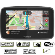 TomTom Go Professional 6250 GPS Truck Sat Nav -  Europe- Lifetime Maps & Traffic