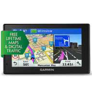 "Garmin DriveSmart 50LMT-D 5"" GPS Sat Nav - Full Europe Lifetime Maps & Traffic (Garmin Newly Overhauled)"