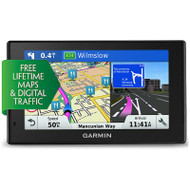"Garmin Drivesmart 50LMT-D 5"" GPS Sat Nav - UK & W.Europe Lifetime Maps"