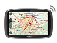 TomTom GO 6100 Sat Nav with MyDrive & Lifetime Traffic & Lifetime World Maps