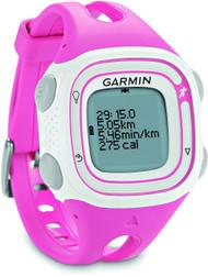 Garmin Forerunner 10 GPS Sports Running Watch - Small - White / Pink (Garmin Newly Overhould)