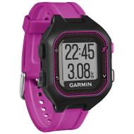 Garmin Forerunner 25 GPS Fitness Running Watch - Small, Black/Purple (Garmin Newly Overhauled)